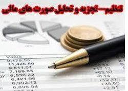 تجزیه و تحلیل صورتهای مالی